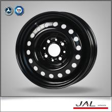 13x5J Black Car Wheels 4 Hole Steel Auto Rims Wheel