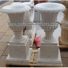 Vaso de mármore para pedras de jardim (QFP341)