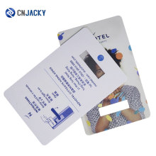 Custom Logo Printing RFID Access Control Card / Color Hotel Key Card