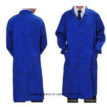 8 цветов поощрения высокое качество рабочей одежды длинное пальто