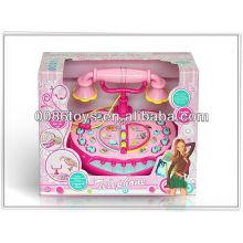 B / O caixa registadora (Spaish & Inglês) brinquedos
