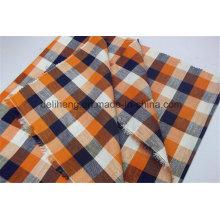 Cheap Price T / C Checks de mode en gros Tissu court pour homme