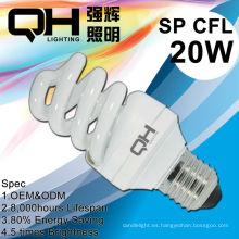 Bombilla CFL con precio, bombilla de luz de ahorro de energía