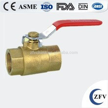 forged 1 inch threaded brass ball valve