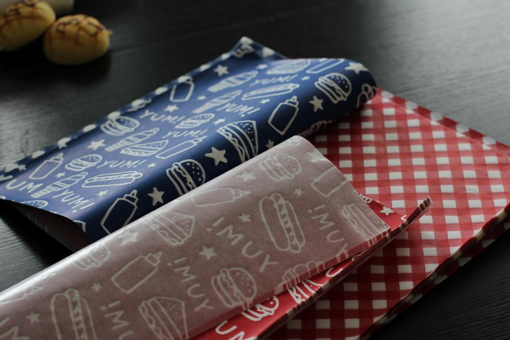 food grade wrapped  / oil-proof paper