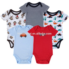 Grossiste Enfants Onesie Infant Stripe Toddler Cotton Barboteuses