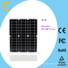20w mini panel solar de silicio monocristalino flexible