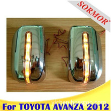Toyota Avanza 2012 Chrome Rear view Mirror with LED