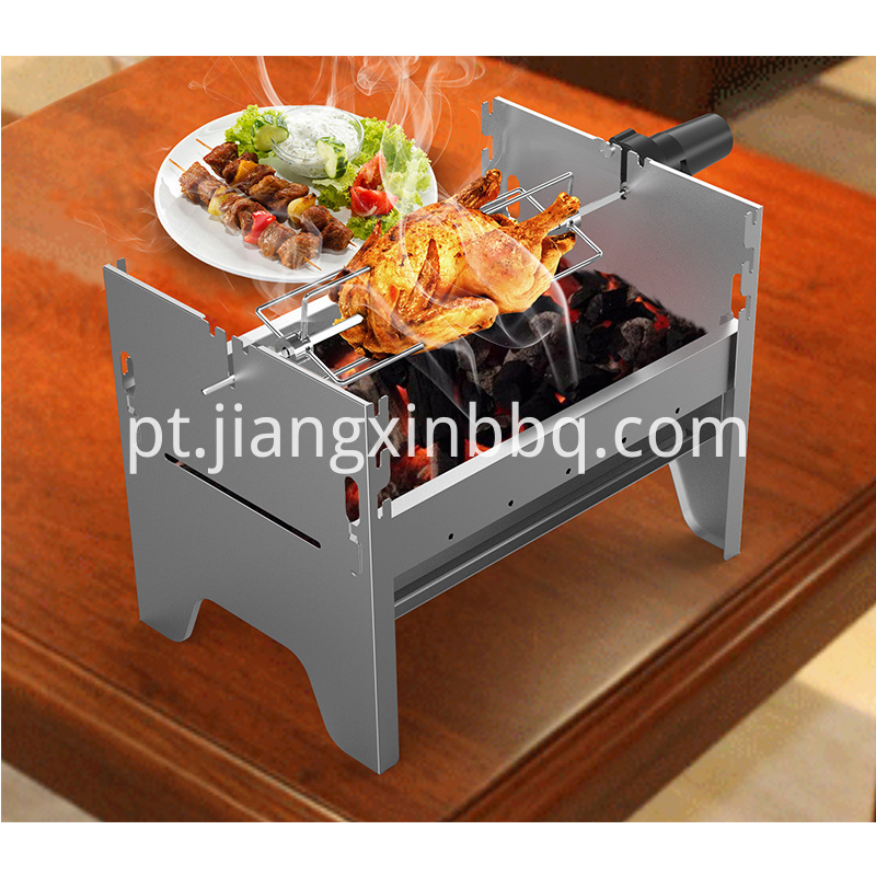 Picnic Grill with Rotisserie kit