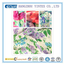 "56""Knitted 100% Polyester Crepe De Chine Printed Fabric, 55D*70d/ 155X98"