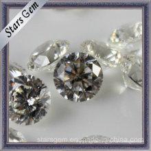Shinning Round Brilliant Cut Zirconia Gemstones