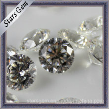 Shinning rodada brilhante corte Zirconia Gemstones