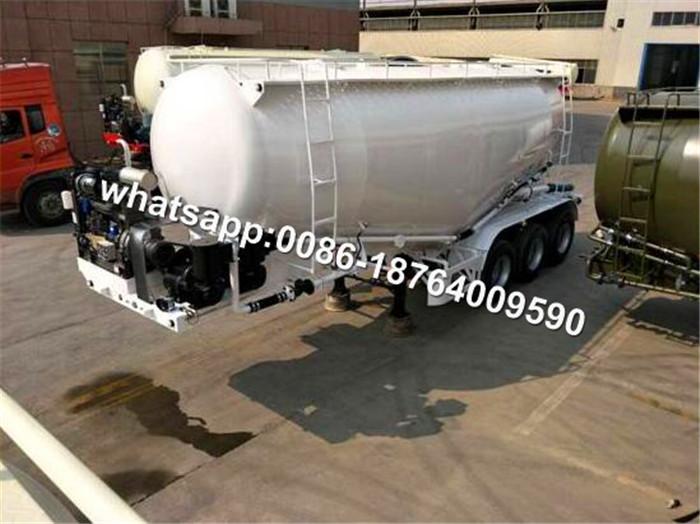 Bulk Cement Tank Truck Trailer