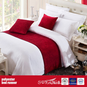 Polyester Decoration Fabric Bed Runner