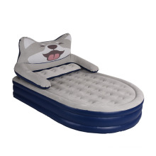 husky inflatable bed with backrest