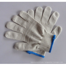 Cheapest coated cotton  work glove  safety gloves