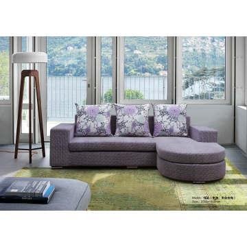 Simple Design Fabric Sofa, Living Room Furniture Sofa (166)