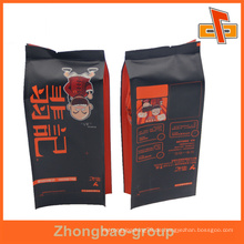 Guangzhou Hersteller Großhandel laminiert Material benutzerdefinierte gedruckt metallisierte Kraftpapier Kaffeebeutel