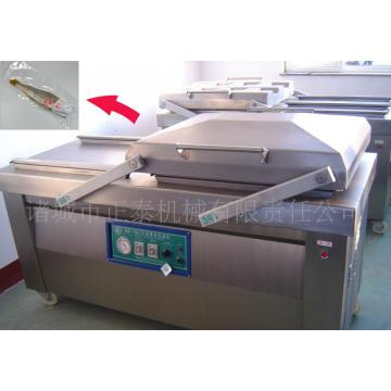 Semi automatic fish and seafood vacuum packaging machine
