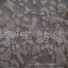 Capa de almofada de sofá de veludo com pelo curto de tecido