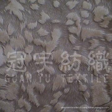 Housse de coussin en tissu velours à poils courts