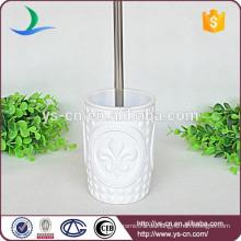 YSb50036-01-tbh Hochwertiger Porzellan-WC-Bürstenhalter