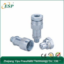 ningbo esp steel thread Lock type hydraulic quick coupling