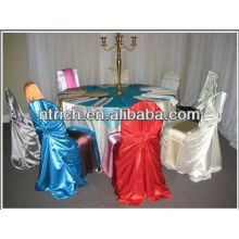 Charming pillowcase chair cover, back tie chair cover