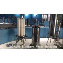 Sistemas de filtración para industrias químicas y farmacéuticas
