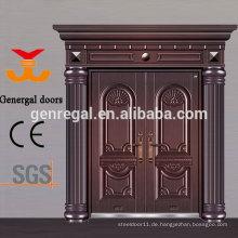 Luxus Exterior Double entry Aluminiumguss Türen
