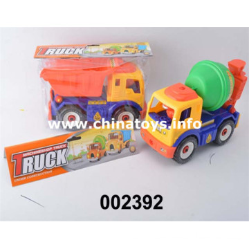 Hot Sale Feel Wheel Construction Car with DIY (002392)