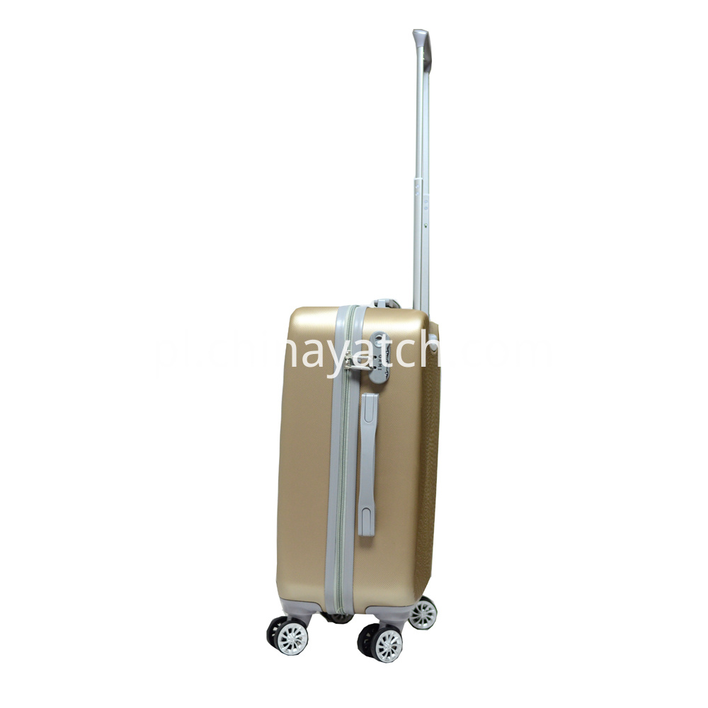 Rolling ABS Luggage with Attractive Grain