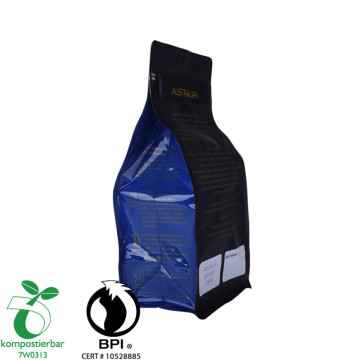 Zipper Flat Bottom Compostable And Plastic Bag Biodegradable