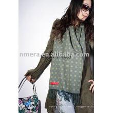 Echarpe en laine de jacquaard à la mode pour dames