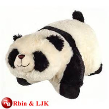 Cumplir EN71 y ASTM estándar ICTI peluche fábrica de juguetes de peluche panda