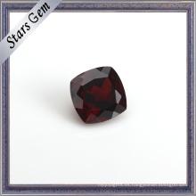La mejor piedra preciosa semipreciosa natural roja oscura de la mejor calidad