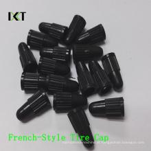 Forma francesa Kxt-FC01 do estilo do pneu da bicicleta da Anti-Poeira dos PP das tampas do pneu