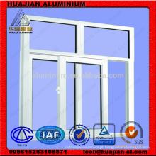Perfis de extrusão em alumínio para janelas e portas deslizantes