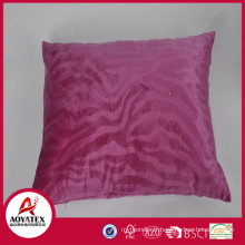 Oreiller rose de coussin de relief d'onde, coussin solide de micromink, usine d'oreiller de coussin