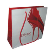 Shopping Paper Bag with Pantone Color/Logo Printing, 32x10x25cm Size, Customized Designs are Welcome
