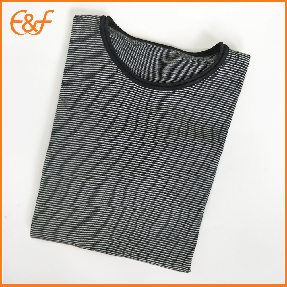 black-white color sweater for men