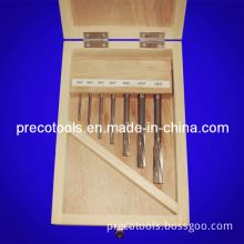 Straight Shank Machine Reamer Set, DIN212, 7PCS/Set