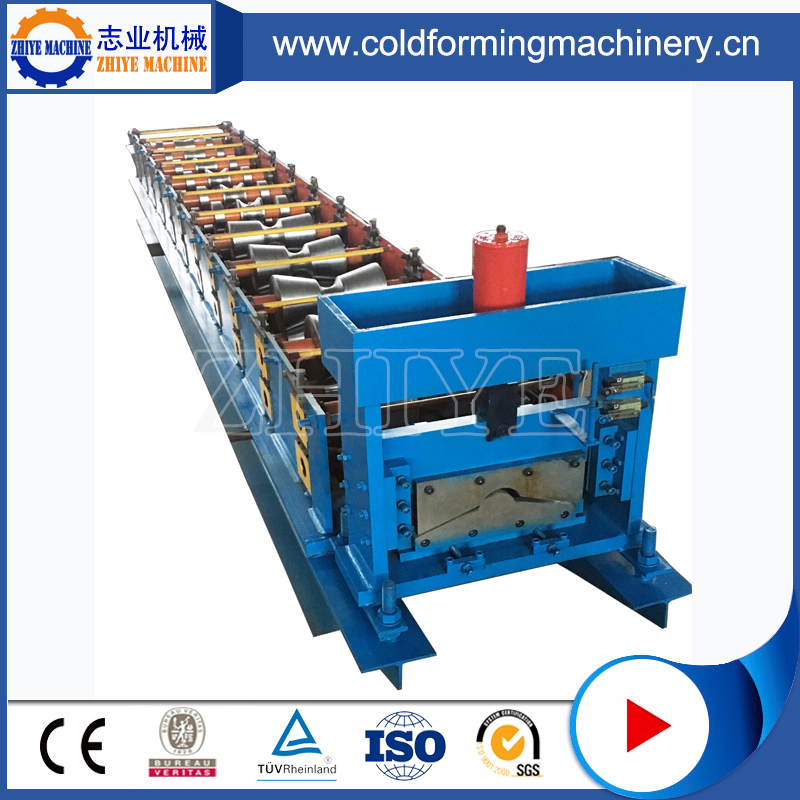 metal ridge cap cold forming machine