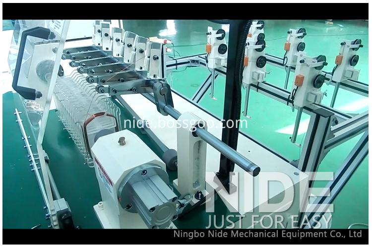 Stator coil winding machine transformer winding machine winder