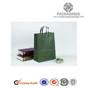 Eco-friendly Kraft Paper Bags With Handles