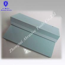 Abrasive type green silicon carbide grinding whetstone