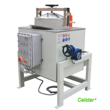 Solvent recovery machine for FRP industry