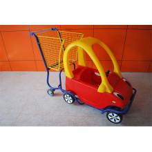 Kind-Supermarkt-Wagen-Kinder, die Tolley kaufen