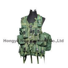 Tactical Paintball Combat Soft Gear Molle Airsoft Military Vest (HY-V056)