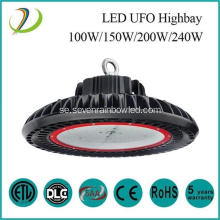 50000hrs 240W UFO LED High Bay ljus